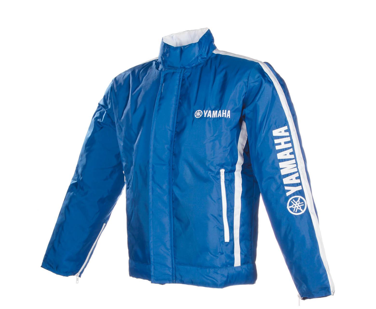 Jaqueta em Nylon – Azul